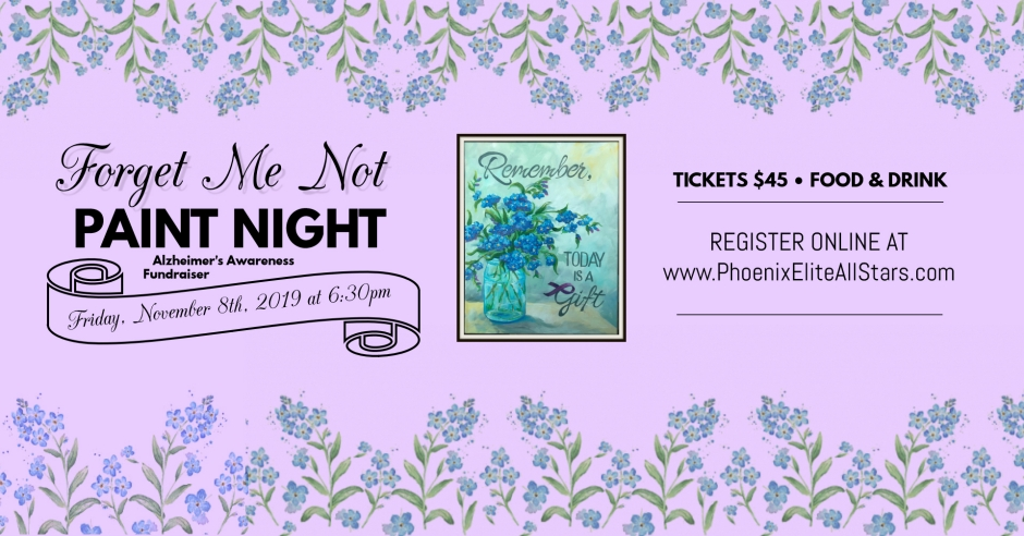 Forget Me Not Paint Night