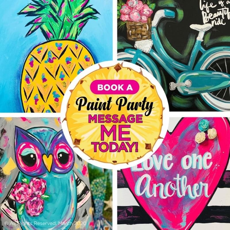 Book An Online Paint Party